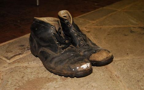 Miners boots.